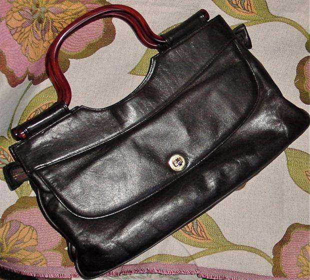 plastic handled purse