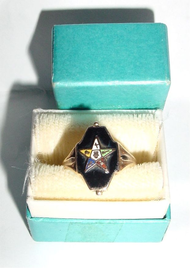 10k Eastern Star Ring