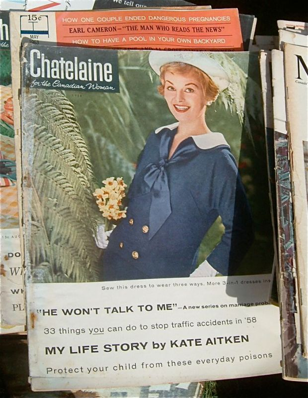 1958 Chatelaine Cover