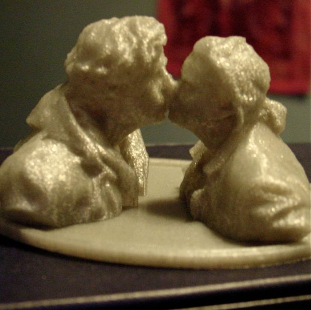 3D Printing of Andrew and RHonda