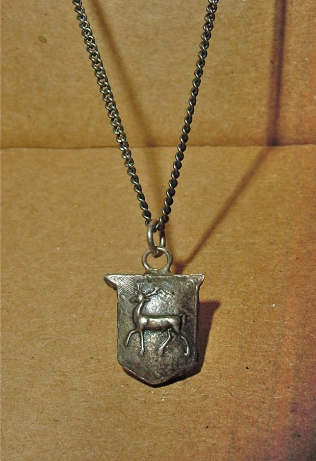 pyrrha stag pendant