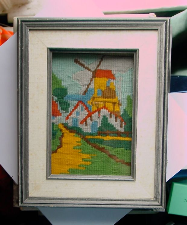 windmill needlepoint