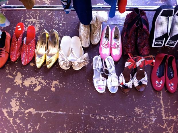 april junction flea shoes