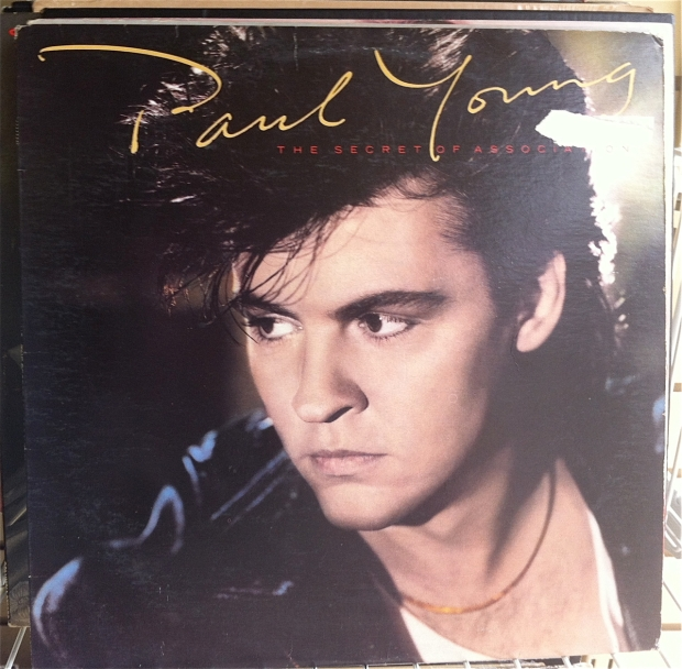 Paul Young album cover