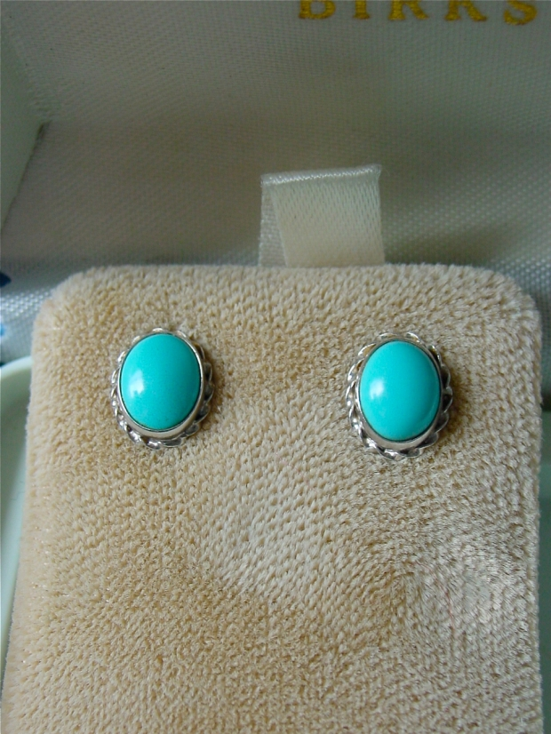 persian turquoise Studs