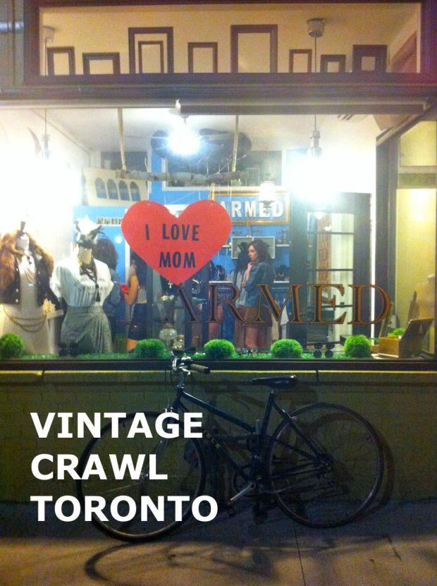 Vintage Crawl Armed
