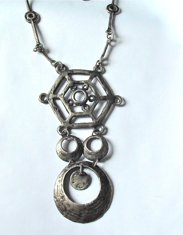brutalist necklace