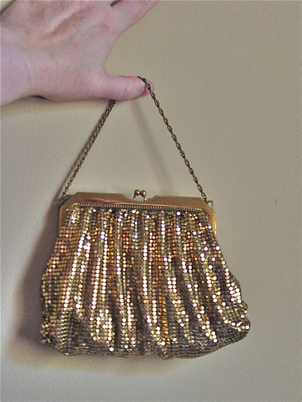 Whiting & Davis mesh evening bag