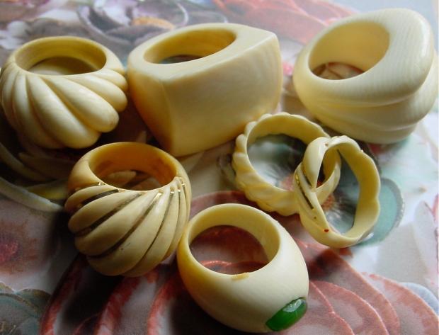 ivory rings