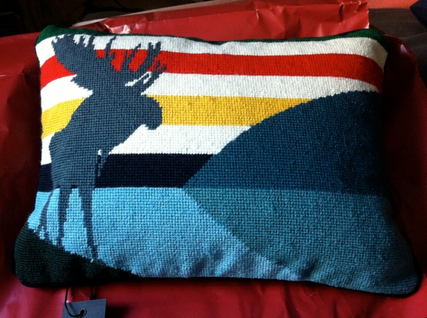 charlie Pachter Hudson's Bay Pillow