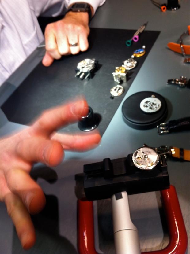 Hermes watchmaker 2