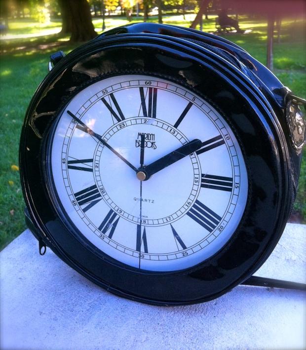 Marilyn Brooks Clock Bag