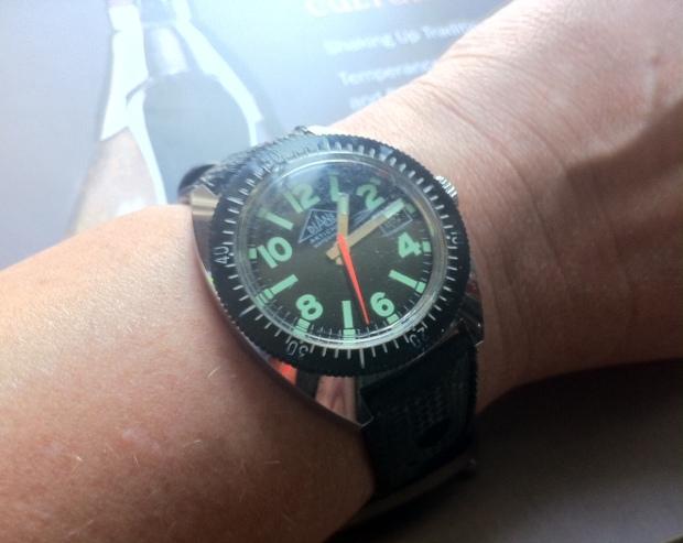 Vintage Diane Dive Watch