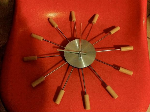 george Nelson Pill Clock