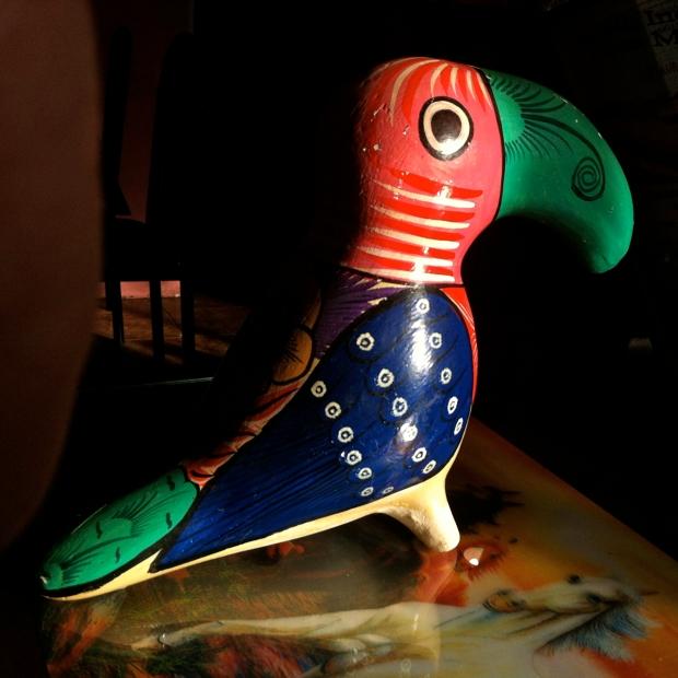 Mexican Barro Pintura Toucan