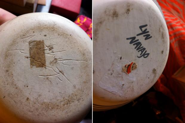 navajo pottery signatures Lyn
