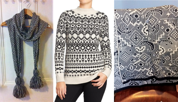 Black and White KNits
