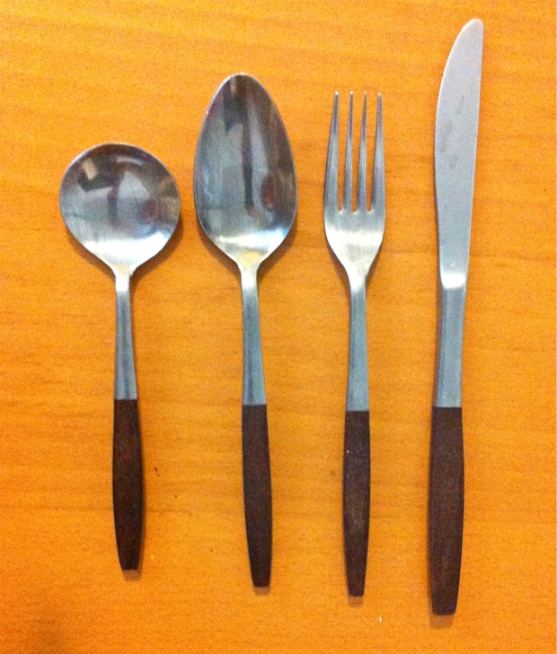 interpur Japan mid century cutlery