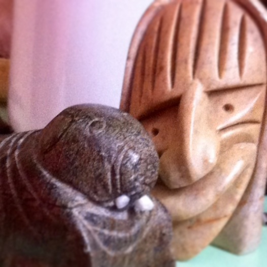 walrus and false face