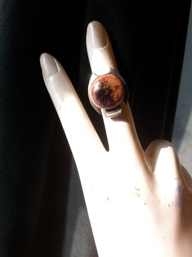 Ceramic pewter mod ring
