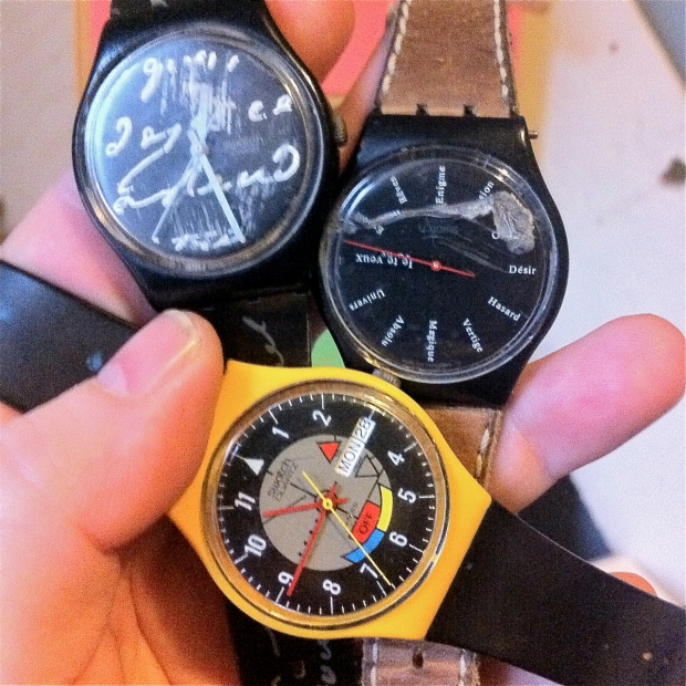 beat up old swatch watches