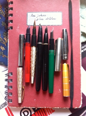 fountain pen collection