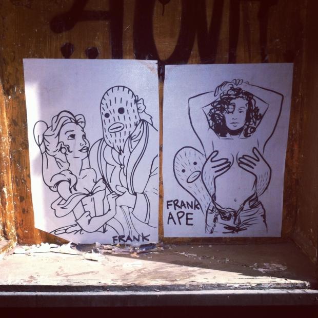 Frank Ape street art