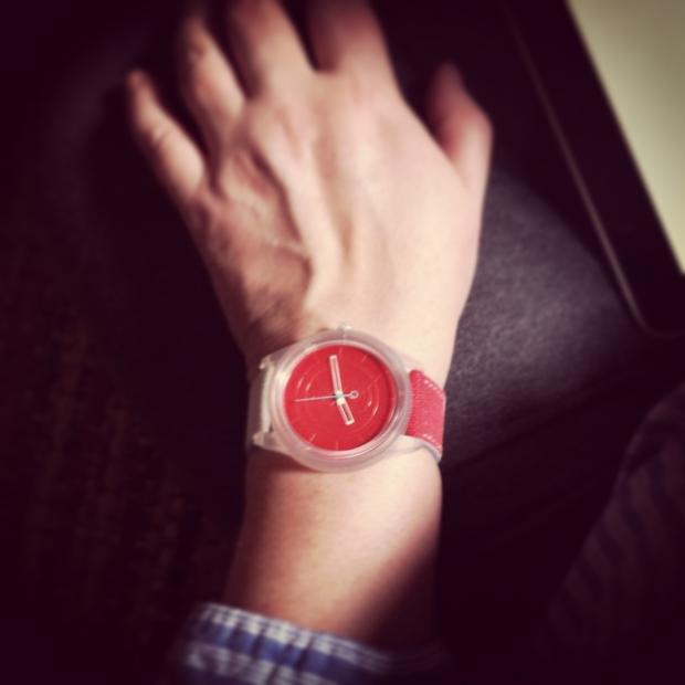 Q&Q SmileSolar watch