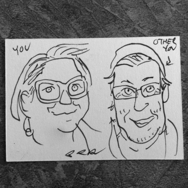 Brian McLachlan $2 Caricature