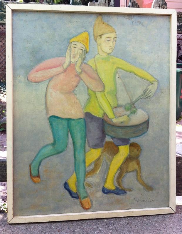 Strawinska painting