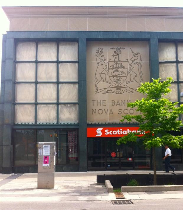 bank of Nova Scotia Facade