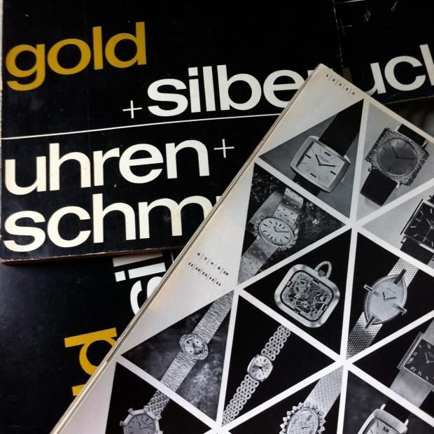 Gold + Silver Uhren + Schmuck magazines