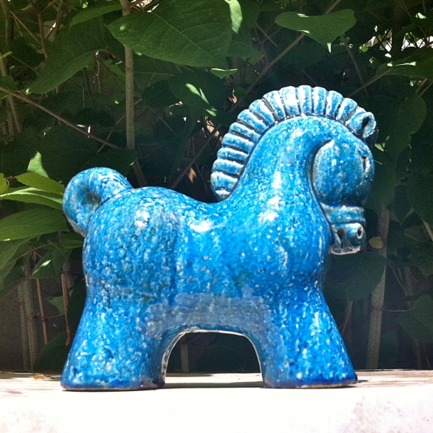 Italian Art Pottery Horse