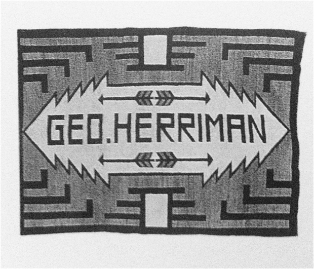 navajo rug made for George Herriman