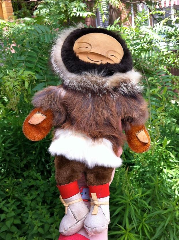 yupik Inuit doll