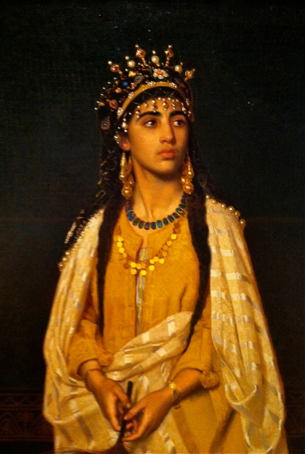 Sophie Anderson the Indian Princess