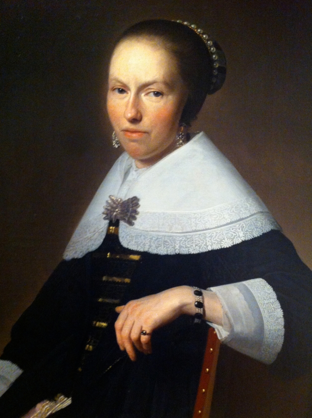 Portriat of a Lady Johannes Corneliuz Verspronck