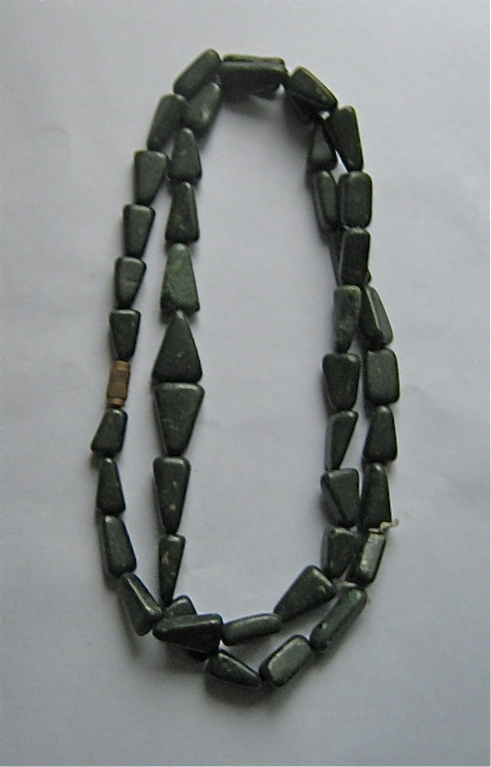 greenstone necklace
