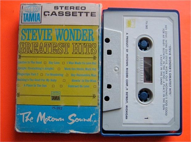 stevie wonders Greatest Hits Cassette