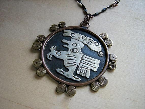 casa maya style pendant