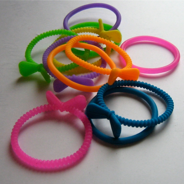 silicone hair elastics