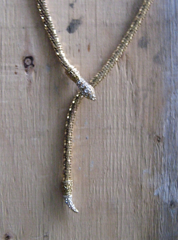snake belt necklace