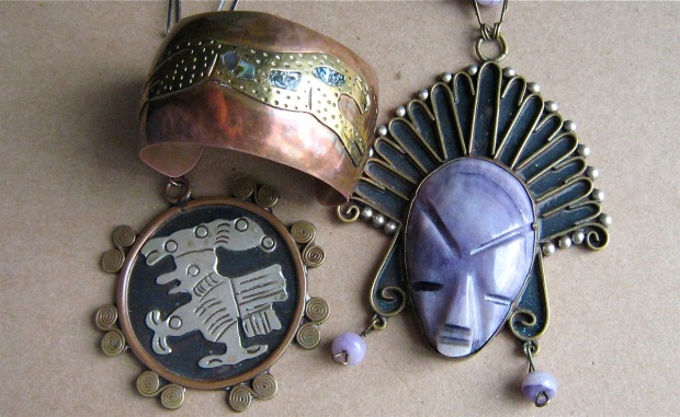 mixed metal mexican jewelry