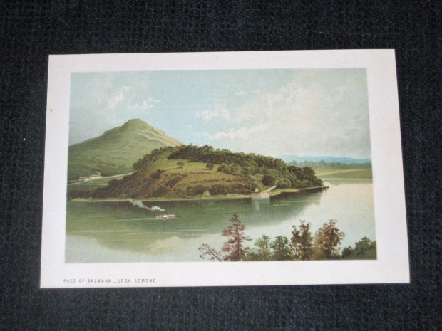 pass of balmaha lithograph
