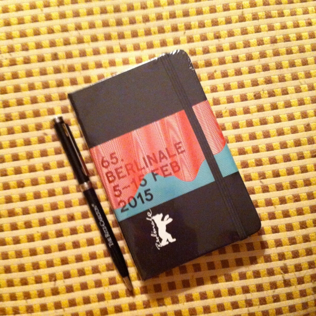 Berlinale 2015 Moleskine Notebook