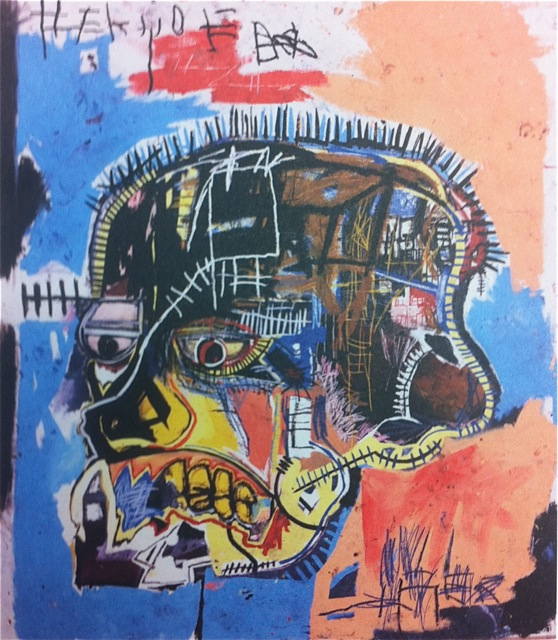 Jean Michel Basquait post card collection