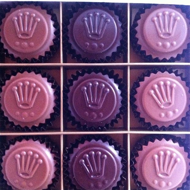 rolex chocolates