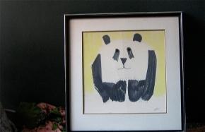 SIGHTER '71 PANDA DRAWING