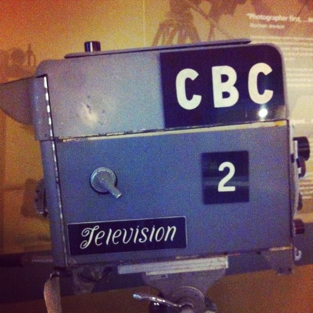 CBC TV Camera