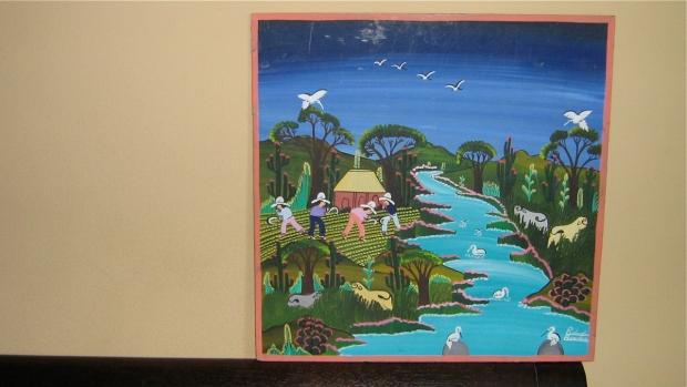 R%roberto Benitez Mexico Folk art painting
